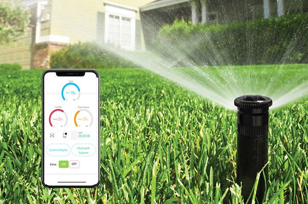 Akıllı sulama, sulama otomasyonu, vana kontrol, smart irrigaiton